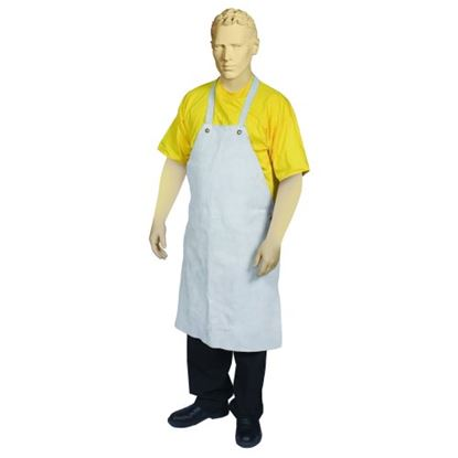 Picture of Chrome Leather Apron with Reinforcement Patch