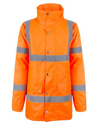 Picture of PU Coated Waterproof Padded Jacket GO/RT 3279