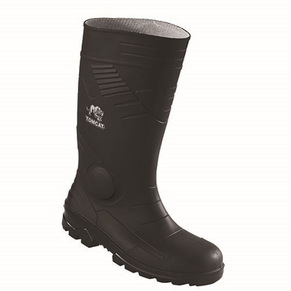 Picture of PVC/Nitrile Safety Wellington with Midsole - Black