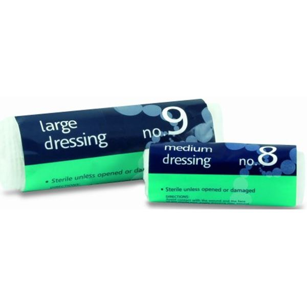 Picture of No. 8 Medium Sterile Dressing - Use 316