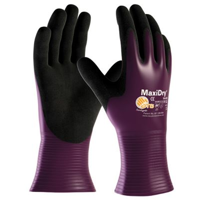 Picture of MaxiDry Nitrile Coated Drivers Style Glove - 12/72
