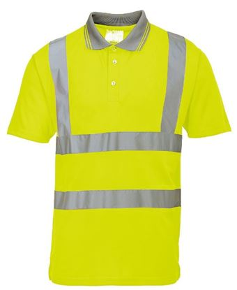 Picture of Polyester Sportech Polo with Tape EN471 Class 2