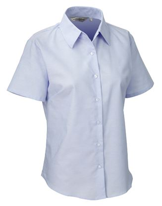 Picture of Russell Ladies Short Sleeve Oxford Shirt