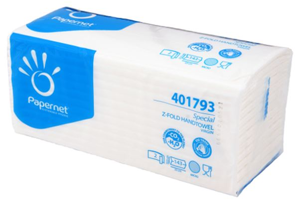 Picture of Z Fold Luxury Soft 2 Ply Paper Towel