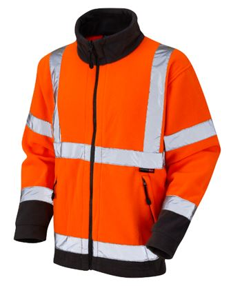 Picture of Hi-Viz Two Tone Polyester Fleece EN471 Class 3