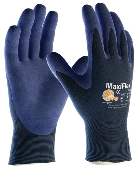 Picture of Maxiflex Elite LW Palm Coated Glove - 12/144