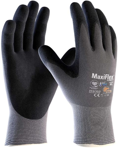 Picture of MaxiFlex Ultimate Nitrile Palm Coated Glove 12/144