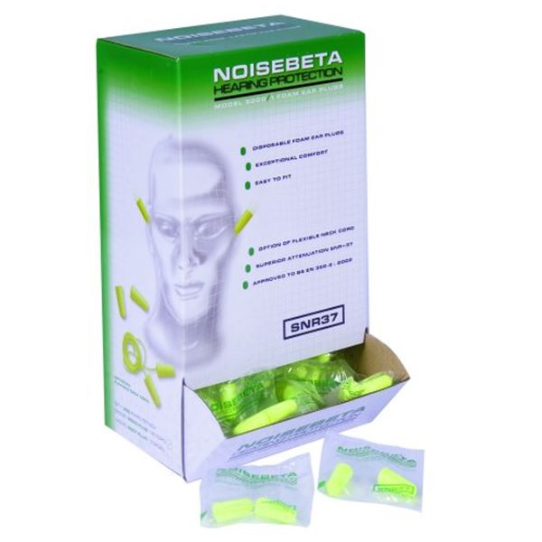 Picture of Betafit Polyurethane Ear Plugs (Pair Packed)
