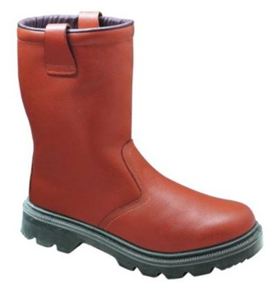 Picture of Unlined Rigger Safety Boot with Midsole