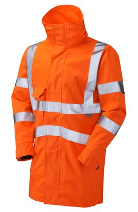 Picture of Hi-Viz Breathable Waterproof Railtrack Exec Jacket