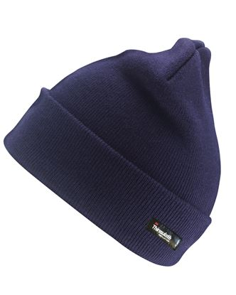 Picture of Acrylic Knit Thinsulate Lined Beanie Hat