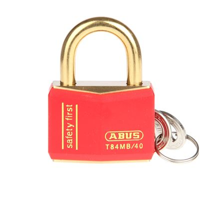 Picture of Abus Colour Coded Padlock - Red