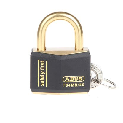 Picture of Abus Colour Coded Padlock - Black