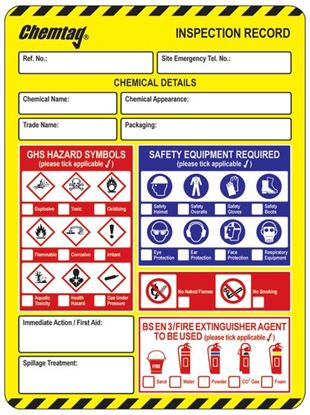 Picture of Scafftag Chemtag Inserts