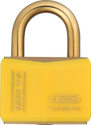 Picture of Abus Colour Coded Padlock - Yellow