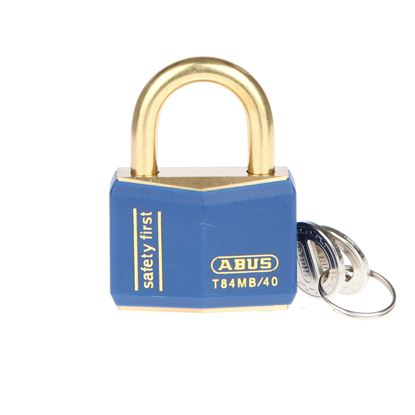 Picture of Abus Colour Coded Padlock - Blue