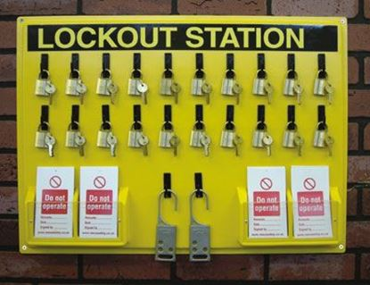 Picture of Lockout Station - Board Only (small)