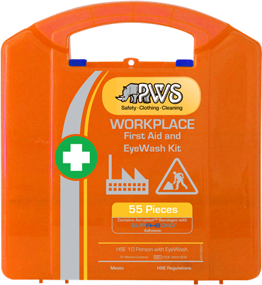 Picture of Workplace HSE 10 Person First Aid and Eyewash Kit