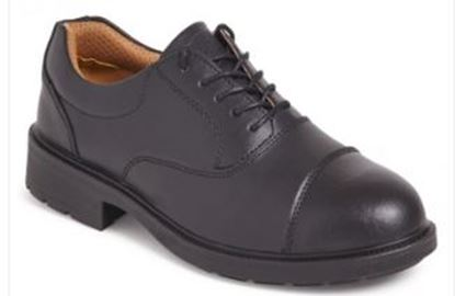 Picture of Luxury Leather Lined Oxford Safety Shoe