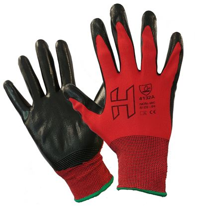 Picture of H Nitrile Palm Coated 4132A Glove (10/120)