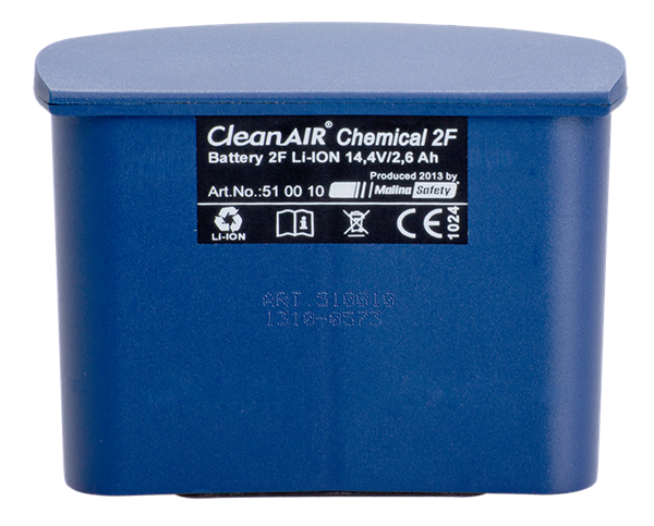 Picture of CleanAir Chemical Standard 2F 14.4V/2.6Ah Battery