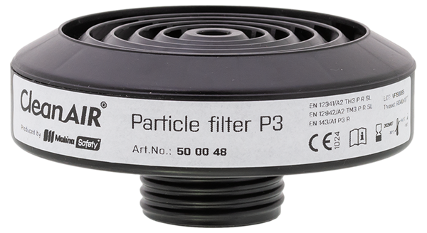 """Picture of CleanAir 2F P3 Chemical Filter - RD40x1/7"""""""