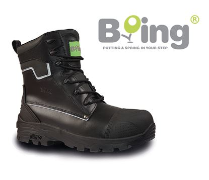 Picture of Boing Haytor S3 HRO SRC Zipped Safety Boot