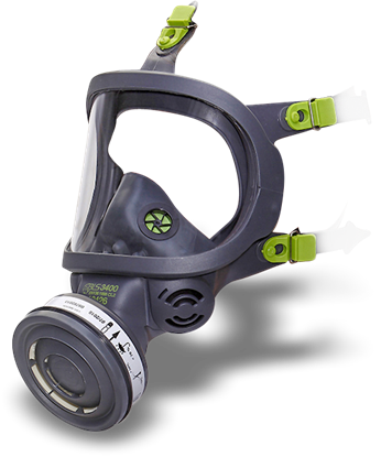Picture of BLS 3150 Full Face Mask with Polycarbonate Visor