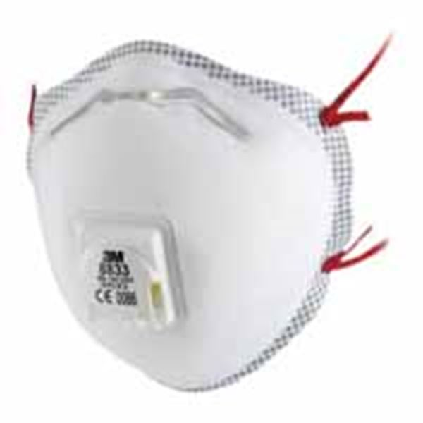 Picture of 3M Soft Cup-Shaped FFP3 Valved Disp. Mask