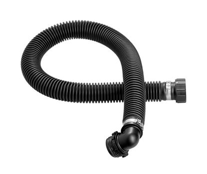 """Picture of Rubber hose CA40x1/7"""" - CA40x1/7' 90° - long"""