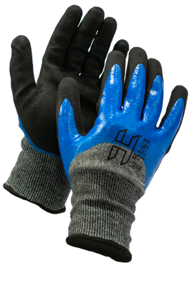 Picture of H Sandy Nitrile Cut E W/P 4X42E Extra Dex Glove