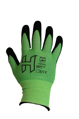 Picture of H 18g Nitrile 4X42C Extra Dex Grip Flex Glove