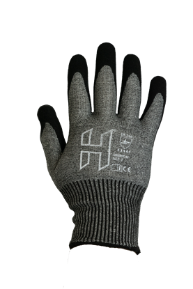 Picture of H Nitrile Extra Cut 4X44F Grip Flex Glove