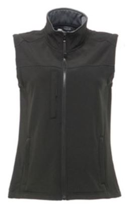 Picture of Flux Ladies Softshell Sleeveless Bodywarmer